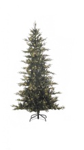 Sterling 7.5\' LED Natural Cut Layered Fairfield Pine