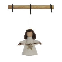 "Creative Co Op 4"" Wool Felt Angel"