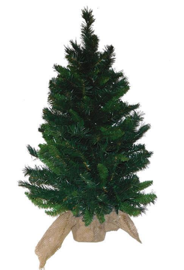 "A&B 24"" Catalina Spruce Tree with Burlap Bag"
