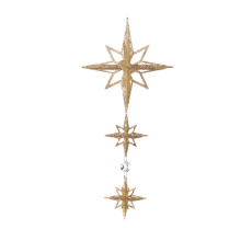 "Raz 8.5"" Star Drop Ornament"