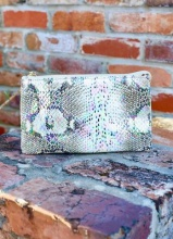 Caroline Hill Snake Multi Hologram Crossbody Bag