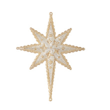 "Raz 6.5"" Christmas Star Ornament"