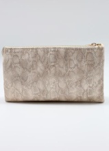 Caroline Hill Snake Shimmer Gold Crossbody Bag