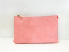 Caroline Hill Salmon Crossbody Bag