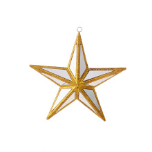 "Raz 6"" Mirrored Star Ornament"