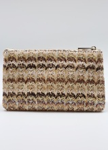 Caroline Hill Woven Neutral Straw Crossbody Bag