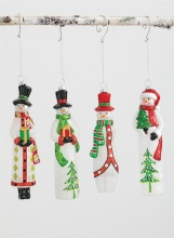 Sullivans Snowman Ornament Assortment