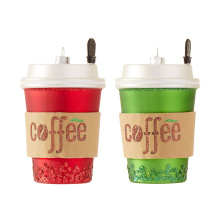 "Raz 5"" Coffee Cup Ornament"